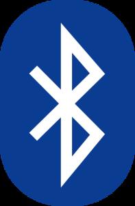 The Bluetooth logo is a combination of the Younger Futhark runes Haglaz and Berkanan, Wikimedia Commons.