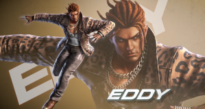 Eddy Gordo, a character in Tekken who uses capoeira to fight, Bandai Namco Entertainment America (YouTube).